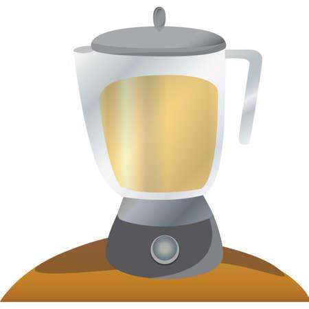 processors: blender Illustration