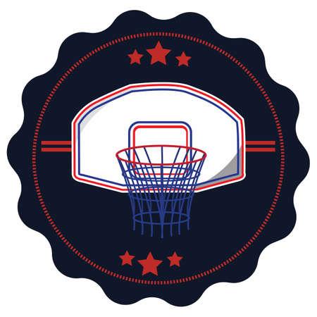 hoop: basketball hoop Illustration