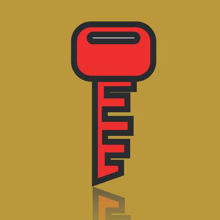 ignition: race car key