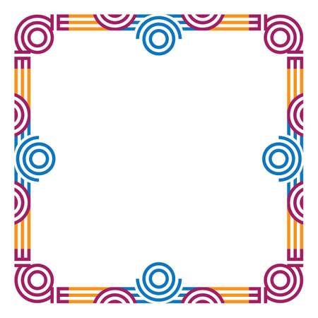 grens Vector Illustratie