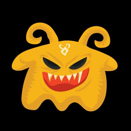 bocinas: demonio con cuernos Vectores