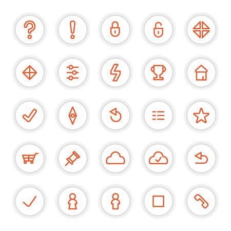 minimize: set of buttons