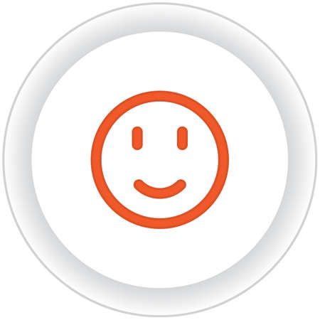 smiley: smiley button