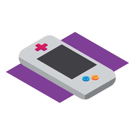 gaming: gaming console Illustration