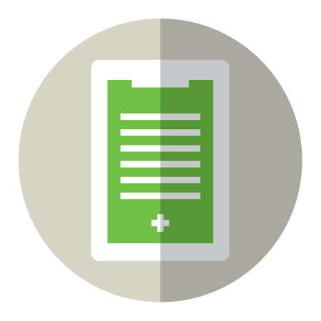 practitioners: medical document Illustration