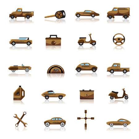 four wheeler: automobile collection
