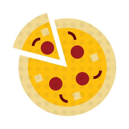 junkfood: pizza and slice