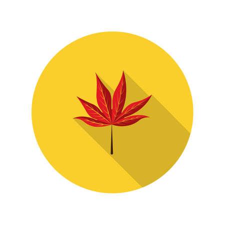leaf: autumn leaf Illustration