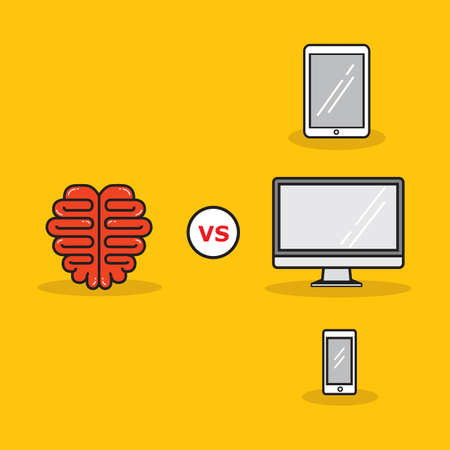versus: brain versus technology
