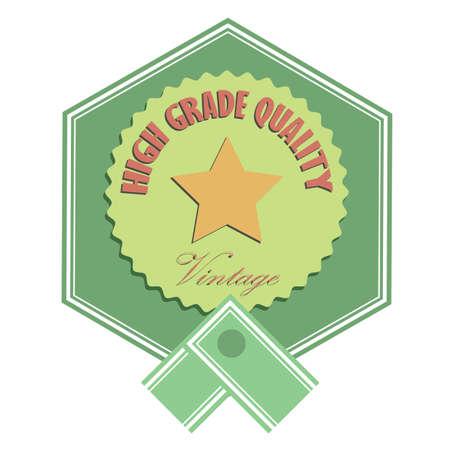 grade: high grade quality badge