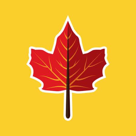 leaf: keep path leaf Illustration