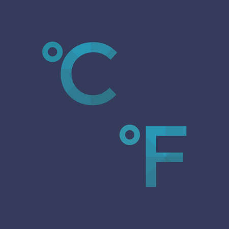 celsius: celsius and fahrenheit