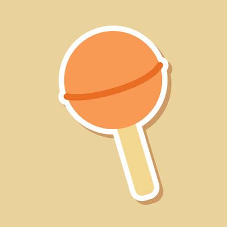 helados con palito: helado de palo