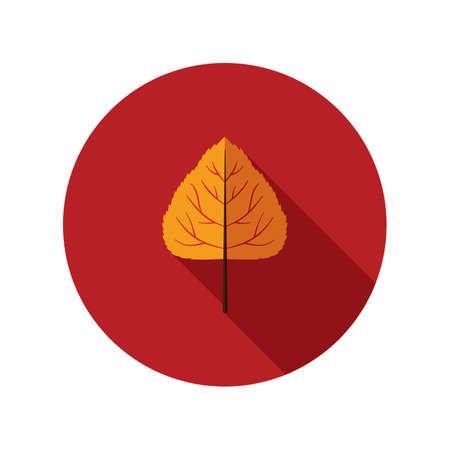 poplar: poplar leaf Illustration