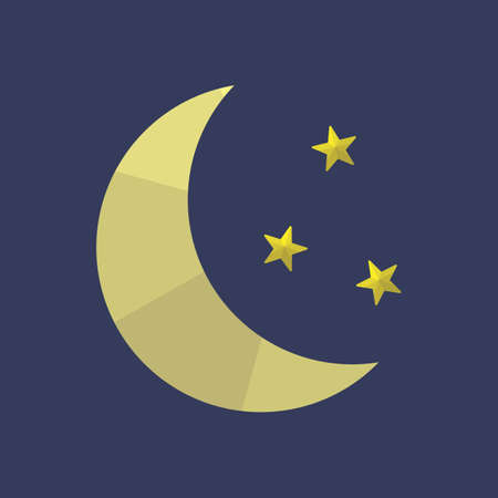 crescent: crescent moon and stars
