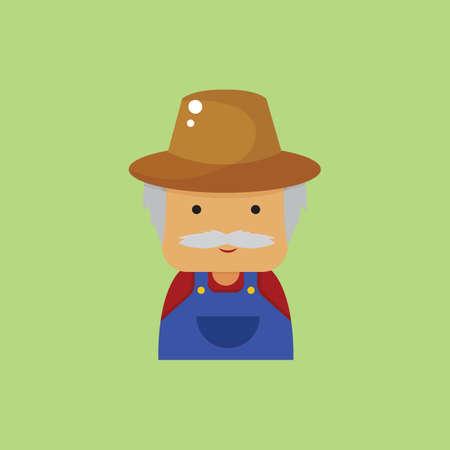 peasant: farmer Illustration