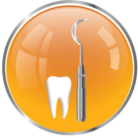 probe: dental probe with tooth