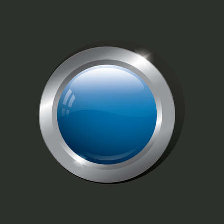 round button: round button
