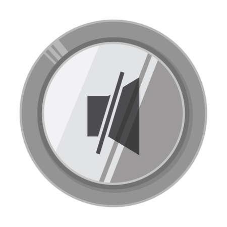 volume: mute volume button