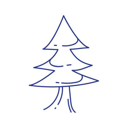 tree line: tree