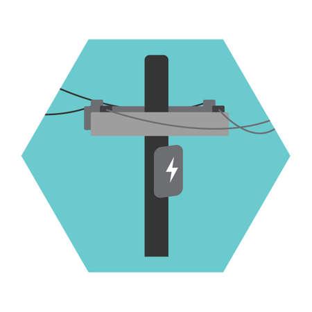 pole: electric pole