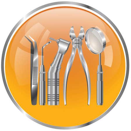 outils de dentiste Vecteurs