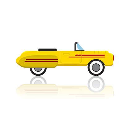 wheeler: car Illustration