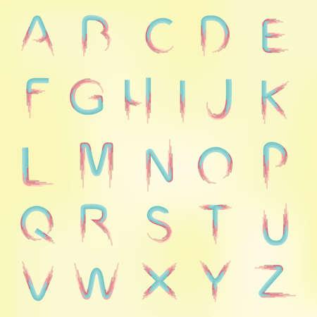 u  s  a: set of alphabets