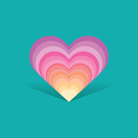 decorative heart design