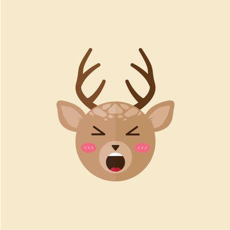 shouting: reindeer shouting
