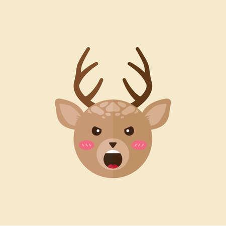 animal screaming: reindeer shouting