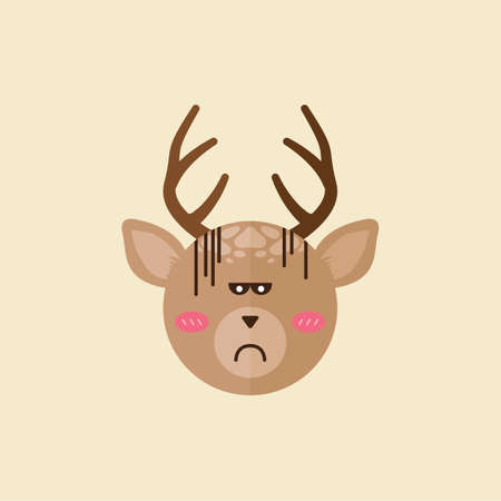disappointed: reindeer disappointed