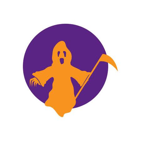 guadaña: reaper con guadaña