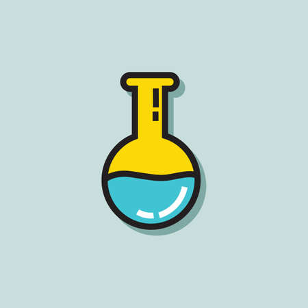 chemical: chemical flask