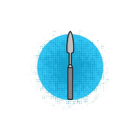 scalpel: dental scalpel