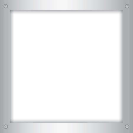metallic: metallic frame