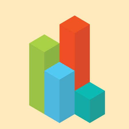geometrical: geometrical bar graphs