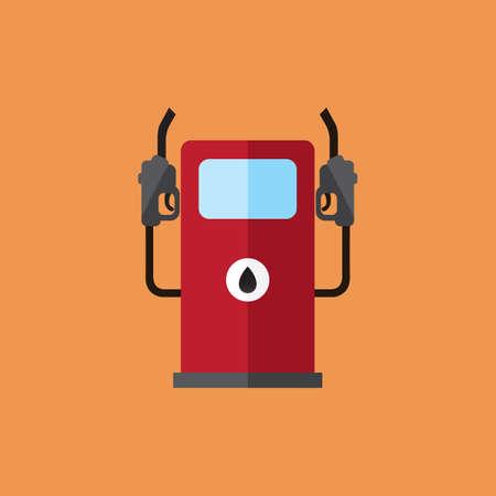 surtidor de gasolina: bomba de gasolina Vectores