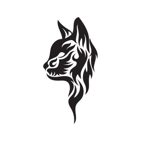 wildcat: wildcat  tribal tattoo
