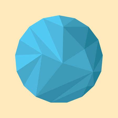 sphere: geometrical sphere