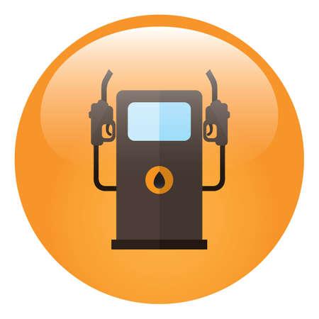 bomba de gasolina: bomba de gasolina Vectores