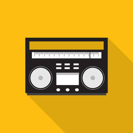 tape recorder: tape recorder Illustration