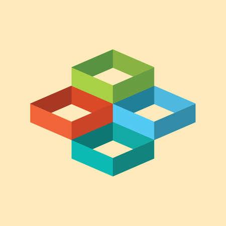 geometrical: geometrical squares