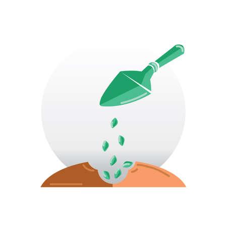 seeding: seed planting