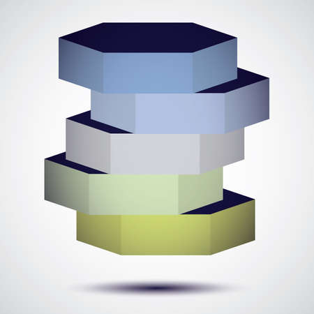 template: geometric template Illustration