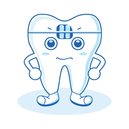 braces: tooth with braces