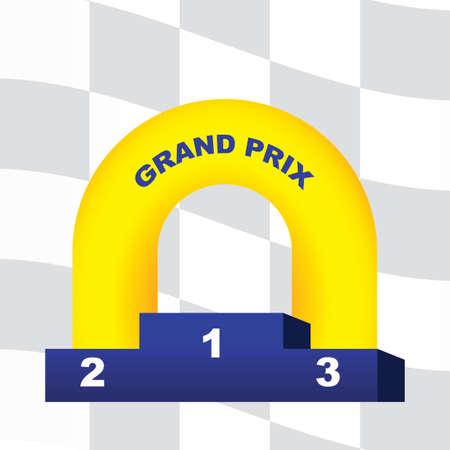 winner podium: winner podium