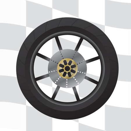spare part: tire