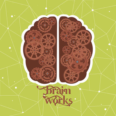 psychical: brain works