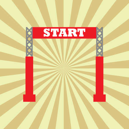 start line: start line